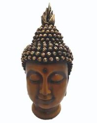 Sun Enterprises Brown Fiber Buddha Statue