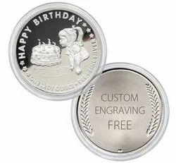 Personalised Metal Coin Token