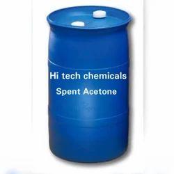Spent  Acetone