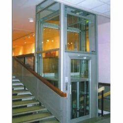 Spacious Glass Lift
