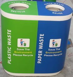 FRP Dual Garbage Bin