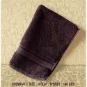 Brown (ht) Plain Spa Cotton Towel