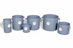 Bulk Density Cylindrical Metal Measure-30 Ltr