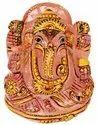 Kesar Zems Stone Lord Ganesh Idol