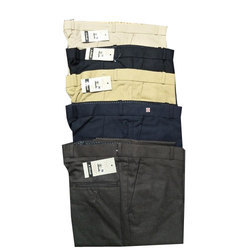 A.Khadi Plain Men's Casual Pant