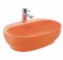 Cafe Silk Orange Wash Basin