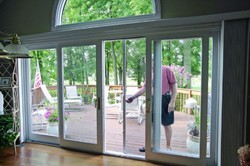 Winda UPVC Double Slider Doors, Thickness (millimetre): 8 - 15