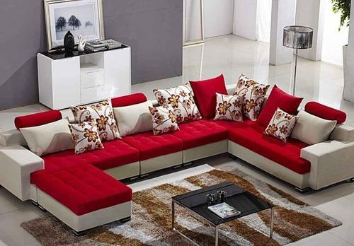 C Shaped Sofa Set