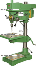 Pillar Drilling Machine KMP 19 / 378 ICR