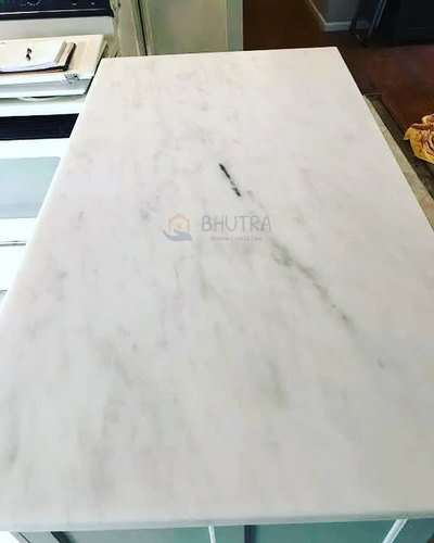 Bhutra Polished Finish Agaria White Marble, Thickness: 15-25mm