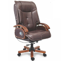 Metro Brown Leather Ceo Chair, For Office