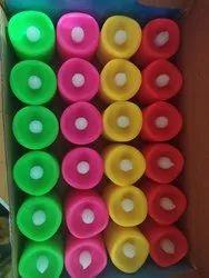 24 piece color candle light