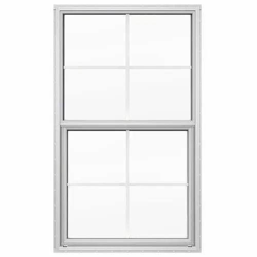 Rectangular Polished Stainless Steel Window Frame, Grade: SS 316