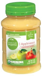 Simple Truth Organic Applesauce Unsweetened -23 oz