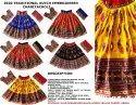 Navratri Chaniya Choli-Gujarati Ghagra Choli-Dandiya Rash Costume-Traditional Chaniya Choli