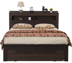 Wooden King Bed PKBS 020