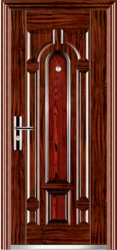 Designer Single Steel Door