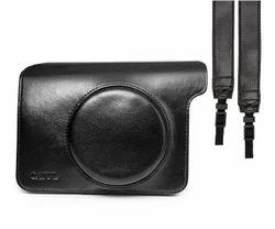 CAIUL Black vintage camera case bag , Size/Dimension: 19 x 16 x 11 cm