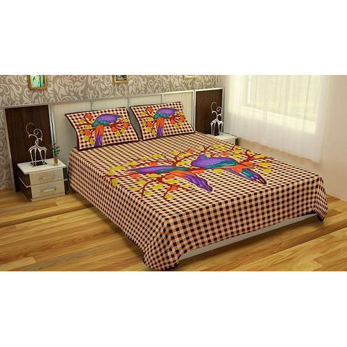 3fb1643a842 Printed Jaipuri Cotton Double Bed Sheet