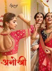 Saroj Anokhi Sana Silk Saree Catalog Collection