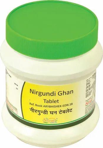 Nirgundi Ghan Tablets