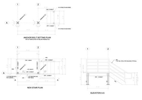 Structure Services - Autocad Files DWG DWF And DXF Structure Service