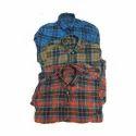 Medium And Large Casual Wear Mens Check Shirt