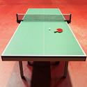 Table Tennis Court Parquet Flooring