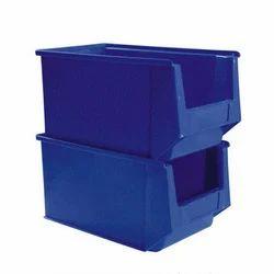 Plastic Blue Storage Bins