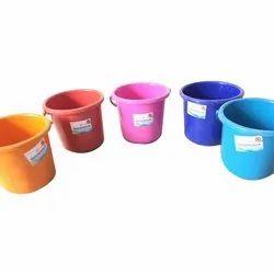 Maharaja 5 Litre Plastic Bucket, Size: 5l