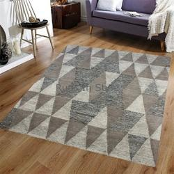Hand Tufted Wool Rug New Indian Designer Collection 2018