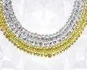 White, Yellow 8 Mm White And Yellow Briolette Diamond, For Fancy Jewelry, 1 Carat