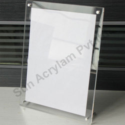 Clear Acrylic Sheet Photo Frame