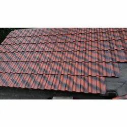 Corrugated Ceramic Roof Tile