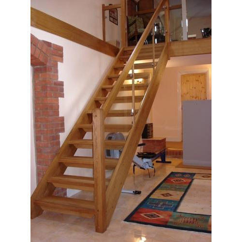 wooden staircase - Wooden Stairs