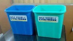Plastic Rubbish Waste Bin