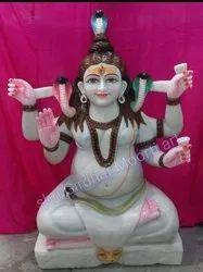 Maha Mrityunjaya Marble Statue