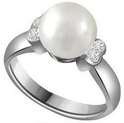 Natural Pearl Stone Ring