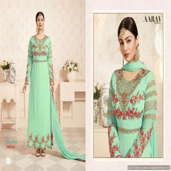 Fancy Embroidered Georgette Anarakali Suit