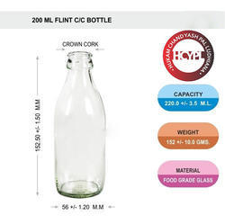 200 Ml Flavored Milk Bottle