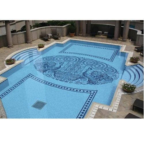 Fancy Swimming Pool Tile