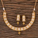 Antique Delicate Necklace With Gold Plating 202852
