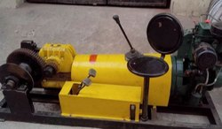 Diesel operated Power winch