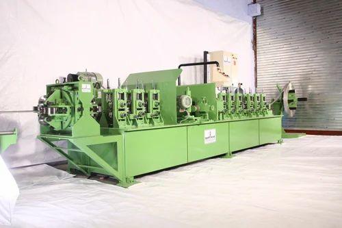 Sarthak Stainless Steel Pipe Making Machine, 20 Hp, Capacity: 1 Ton (12 Hrs)