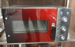 Single Door Stainless Steel Pizza Oven, Size: Small, Capacity: 6.0