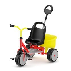 Children Plastic Tricycle, Size: 23.00 X 19.00 X 8.00 Inches