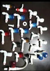 FANCY PVC BIBCOCK, Packaging Type: Box, Size: 15mm & 20mm