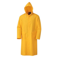 Not Reflective Male Yellow PVC Boiler Suits, Size: Free Size