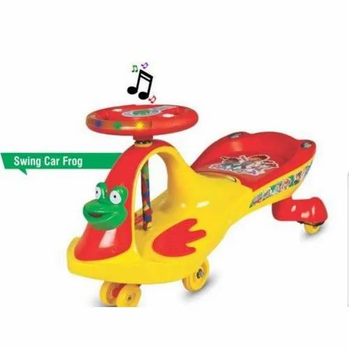 Kids Frog Magic Swing Car