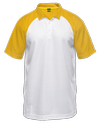 Proidentity-Personalised Name And Number Collar Jersey-Yellow